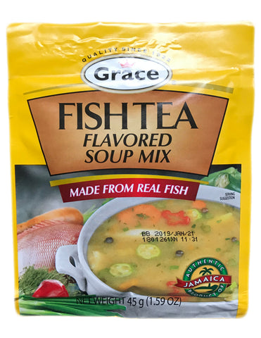 <b>GRACE</b><br>Flavored Flavored Soup Mix (Fish Tea)