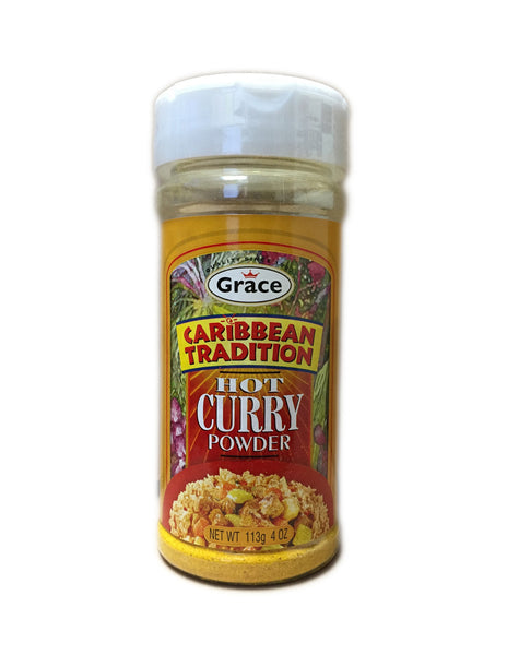<b>GRACE CARIBBEAN TRADITION</b><br>Curry Powder (Hot)