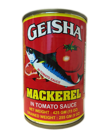 <b>GEISHA</b><br>Mackerel in Tomato Sauce