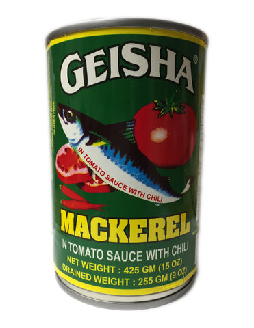 <b>GEISHA</b><br>Mackerel in Tomato Sauce With Chili