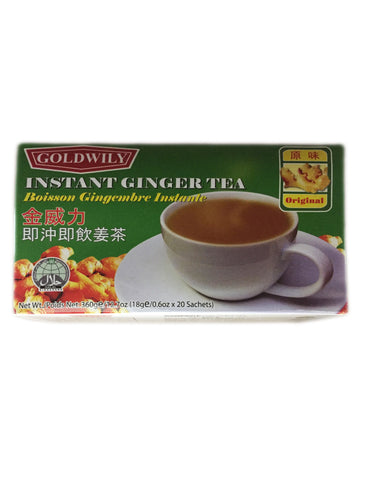 <b>GOLDWILY</b><br>Instant Ginger Tea - 20 Bags