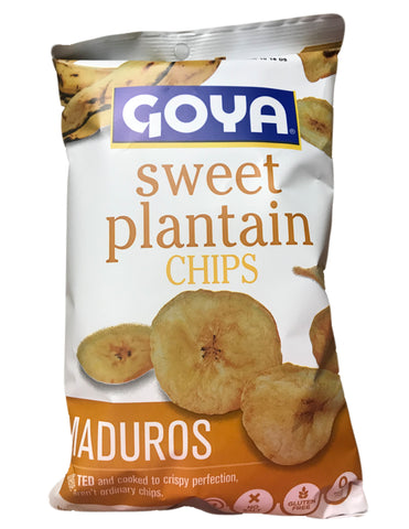 <b>GOYA</b><br>Sweet Plantain Chips (Maduros)