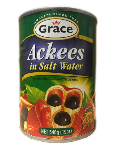 <b>GRACE</b><br>Ackees in Salt Water