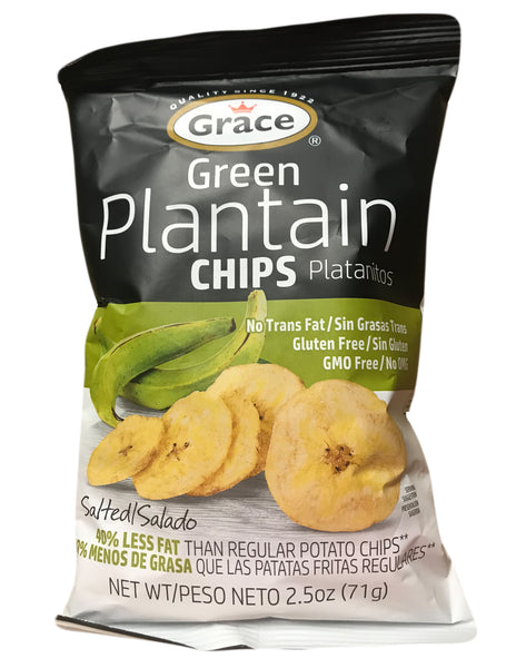 <b>GRACE</b><br>Green Plantain Chips