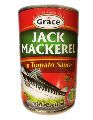 <b>GRACE</b><br>Jack Mackerel in Tomato Sauce