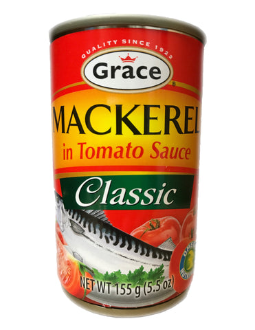 <b>GRACE</b><br>Mackerel in Tomato Sauce (Classic)