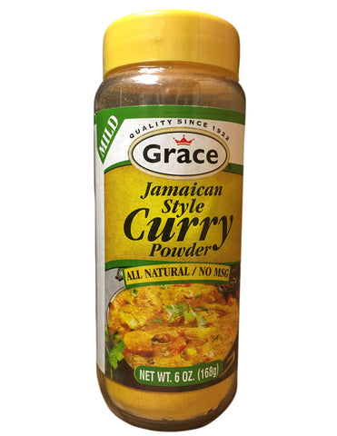<b>GRACE</b><br>Jamaican Style Mild Curry Powder