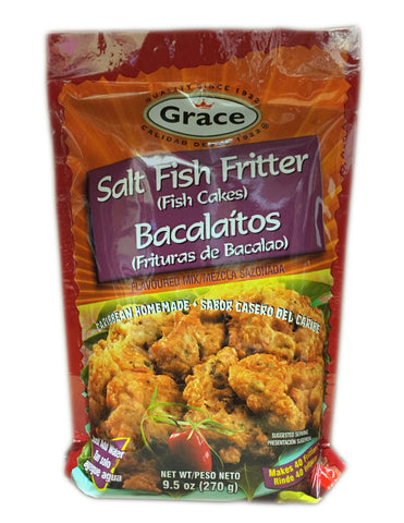<b>GRACE</b><br>Salt Fish Fritter Bacalaitos Mix