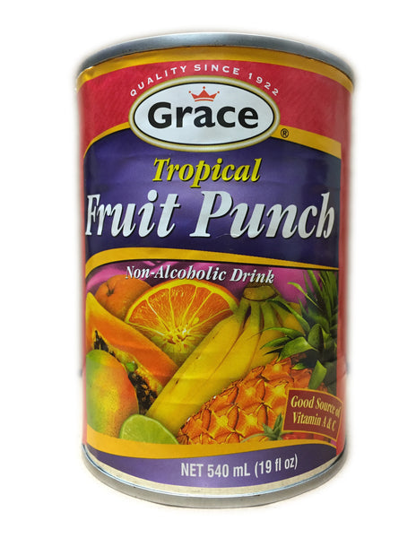 <b>GRACE</b><br>Tropical Fruit Punch