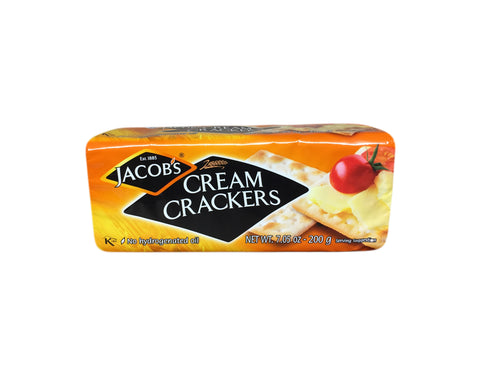 <b>JACOB'S</b><br>Cream Crackers