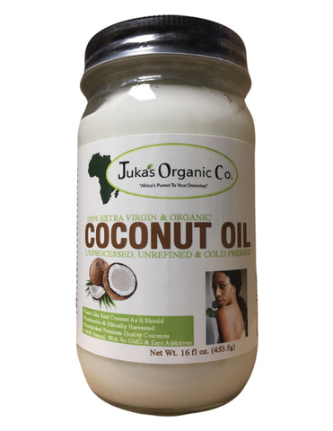 <b>JUKA'S ORGANIC CO.</b><br>Coconut Oil