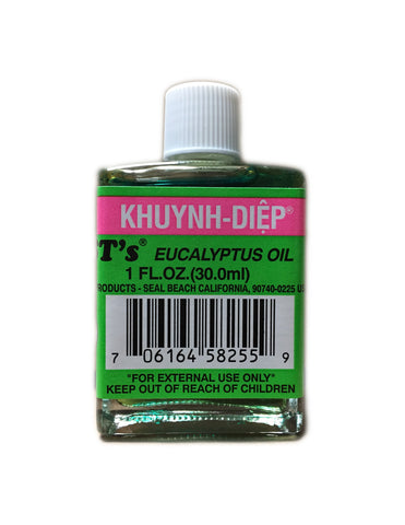<b>BST'S</b><br>Eucalyptus Oil