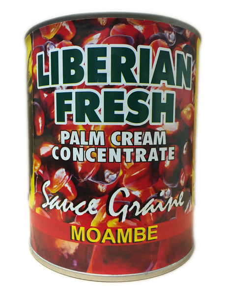 <b>LIBERIAN FRESH</b><br>Palm Cream Concentrate