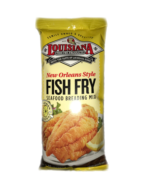 <b>LOUISIANA</b><br>New Orleans Style Fish Fry Seafood Breading Mix