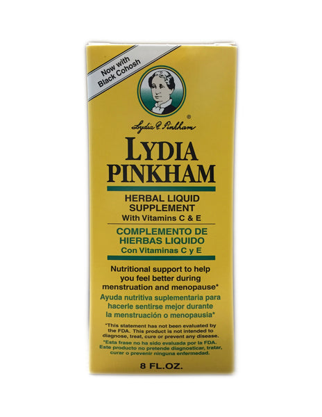 <b>LYDIA PINKHAM</b><br>Herbal Liquid Supplement