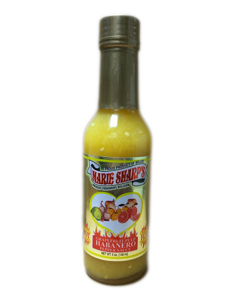<b>MARIE SHARP'S</b><br>Grapefruit Pulp Habanero Pepper Sauce (Hot)