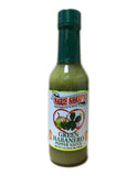 <b>MARIE SHARP'S</b><br>Green Habanero Pepper Sauce (Hot)