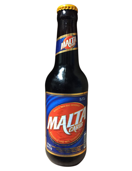 <b>Malta Carib</b><br>Alcohol Free Malt Beverage