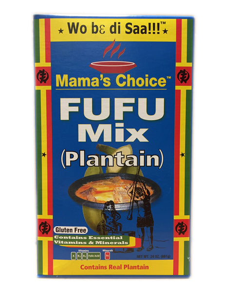 <b>MAMA'S CHOICE</b><br>Fufu Mix (Plantain)