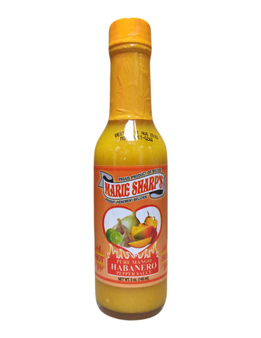 <b>MARIE SHARP'S</b><br>Pure Mango Habanero Pepper Sauce
