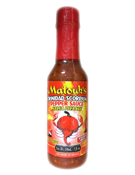 <b>MATOUK'S</b><br>Trinidad Scorpion Pepper Sauce (Fiery Hot)