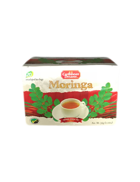 <b>CARIBBEAN DREAMS</b><br>Moringa Natural Herbal Tea - 20 Bags