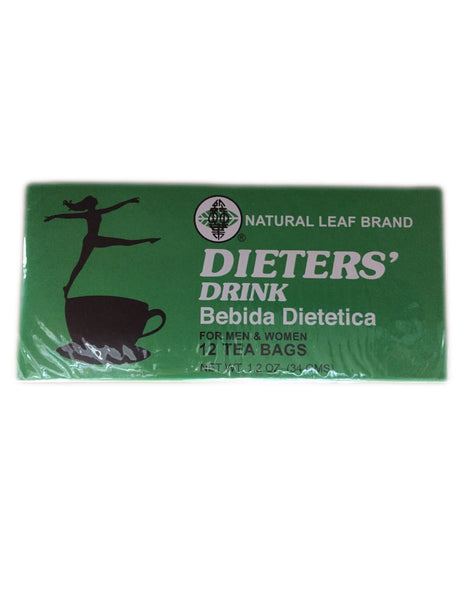 <b>NATURAL LEAF BRAND</b><br>Dieters' Drink - 12 Bags
