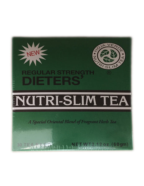 <b>NUTRI-SLIM TEA</b><br>Dieters Tea (Regular Strength) - 30 Bags