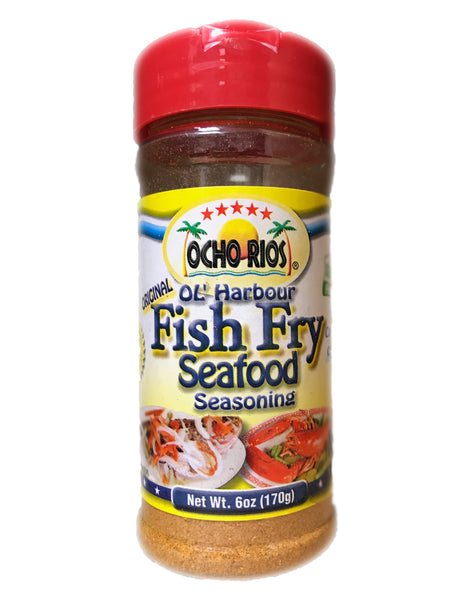 <b>OCHO RIOS</b><br>Fish Fry Seafood Seasoning