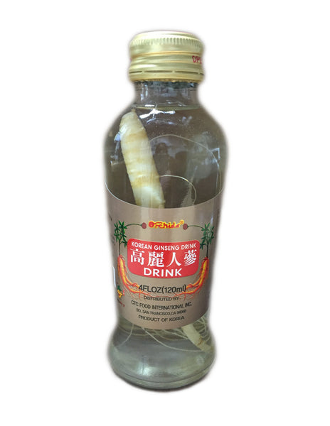 <b>ORCHIDS</b><br>Korean Ginseng Drink