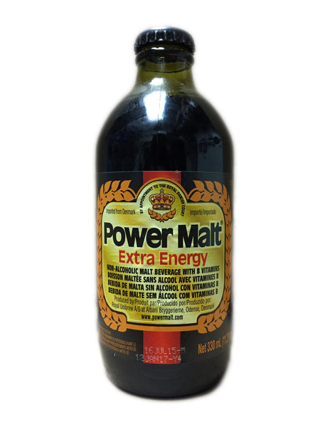 <b>POWER MALT</b><br>Extra Energy Malt Beverage