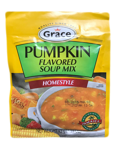 <b>GRACE</b><br>Flavored Soup Mix (Pumpkin)