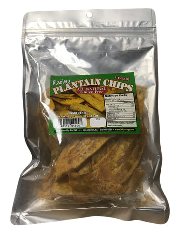 <b>RACING LLC.</b><br>Vegan Plantain Chips