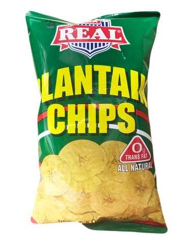 <b>REAL</b><br>Plantain Chips