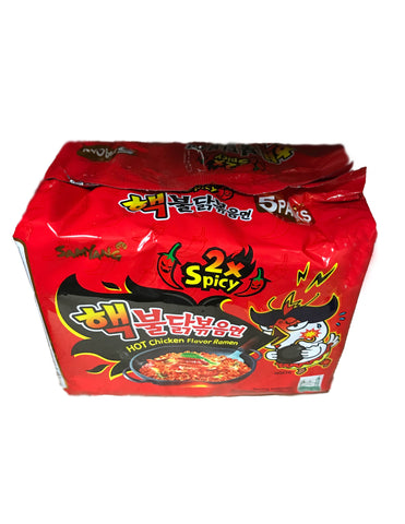 <b>SAMYANG</b><br>Hot Chicken Flavor Ramen (2X Spicy) Family Pack
