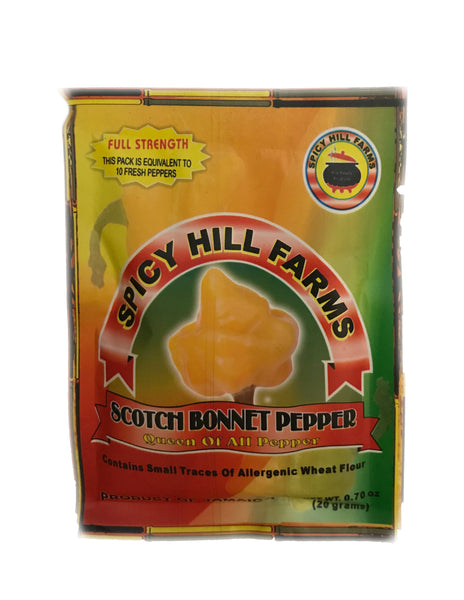 <b>SPICY HILL FARMS</b><br>Scotch Bonnet Pepper