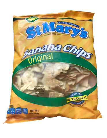 <b>ST MARY'S</b><br>Original Banana Chips