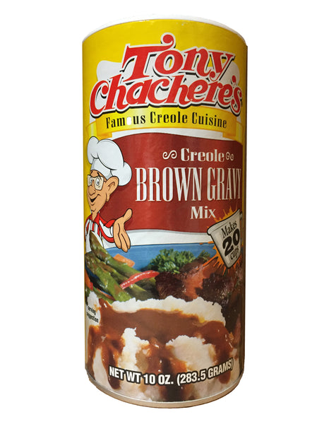 <b>TONY CHACHERE'S</b><br>Creole Brown Gravy Mix