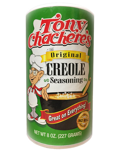 <b>TONY CHACHERE'S</b><br>Original Creole Seasoning
