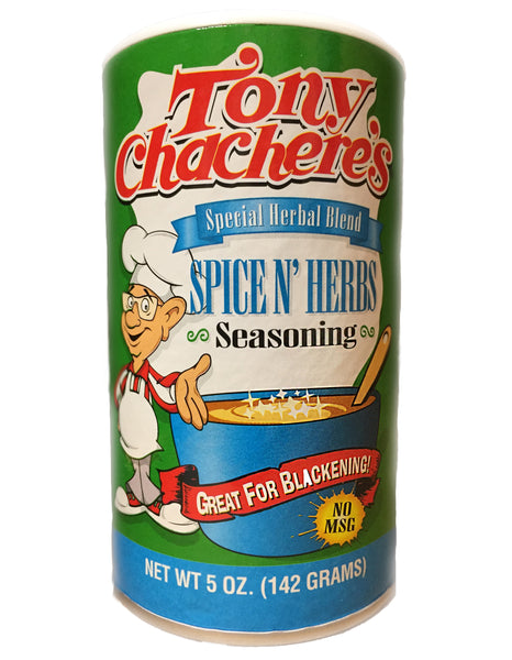 <b>TONY CHACHERE'S</b><br>Spice N' Herbs Seasoning