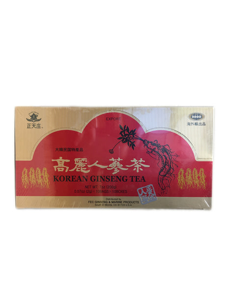 <b>TEA POT BRAND</b><br>Korean Ginseng Tea