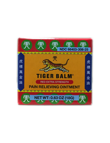 <b>TIGER BALM</b><br>Pain Relieving Ointment (Red Extra Strength)