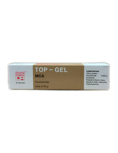 <b>TOP-GEL</b><br>Fluocinonide Tube