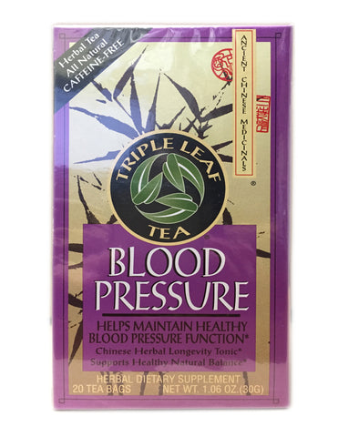 <b>TRIPLE LEAF</b><br>Tea (Blood Pressure) - 20 Bags