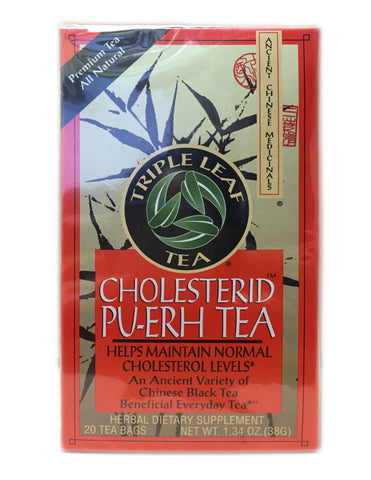 <b>TRIPLE LEAF</b><br>Tea (Cholesterol) - 20 Bags