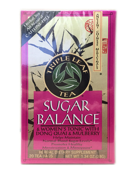 <b>TRIPLE LEAF</b><br>Tea (Sugar Balance) - 20 Bags