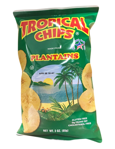<b>TROPICAL</b><br>Plantain Chips