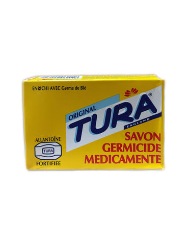 <b>TURA</b><br>Germicidal Medicated Soap