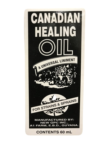<b>CANADIAN HEALING OIL</b><br>A Universal Liniment