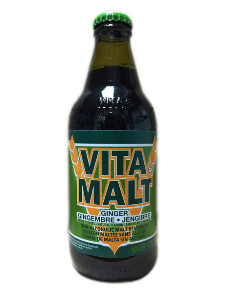 <b>VITA MALT</b><br>Ginger Malt Beverage